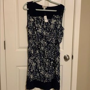 LOFT Sleeveless Floral Sundress | XL NWT